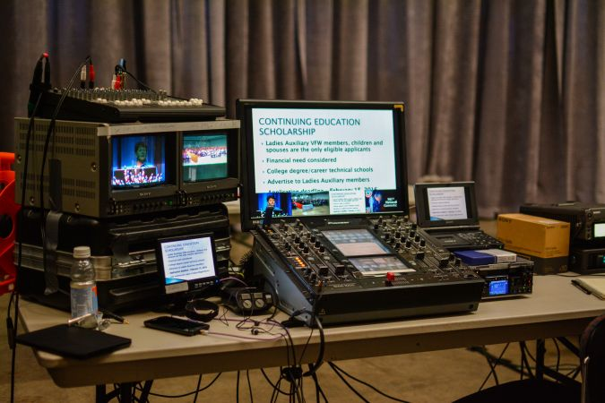 Video Production VFW Convention #318<br>6,000 x 4,000<br>Published 2 years ago