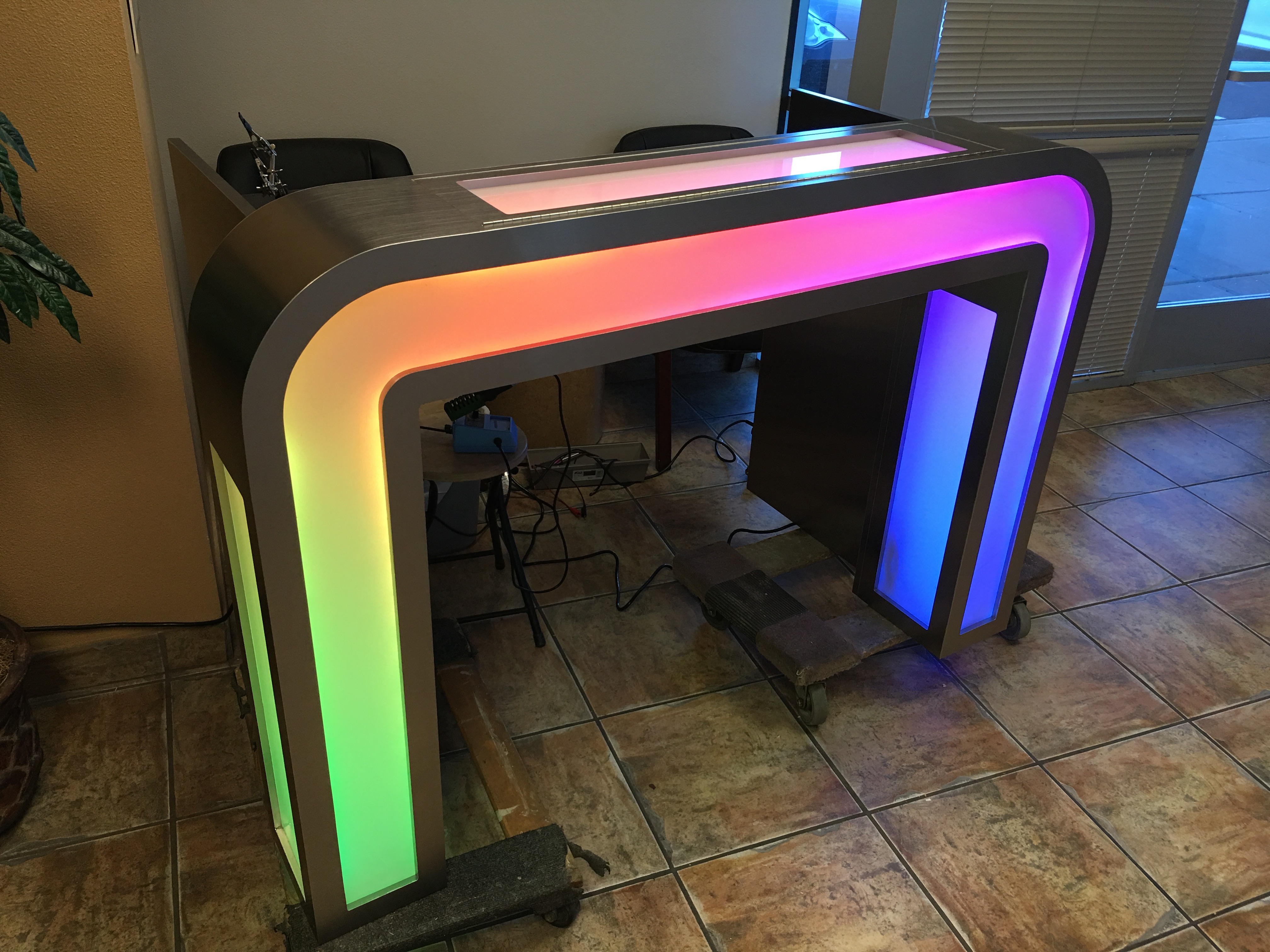 Illuminated DJ Table Photo #227