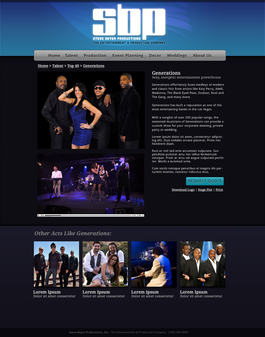 Talent Showcase WebApp Photo #356